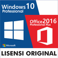 Jual Lisensi Windows 10 Professional + Office Pro Plus 2016 Murah