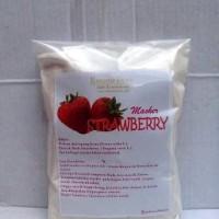 Masker Badan Bubuk Strawberry 100 gram