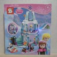 Jual Sy lego princes elsa frozen castle istana elsa Murah