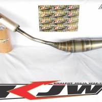 Knalpot Racing Satria 2 Tak | Knalpot Creampie Satria 2 Tak