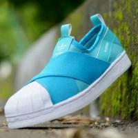 harga Promo Sepatu Sneakers Sport Casual Wanita Adidas Superstar Slip-on Tokopedia.com
