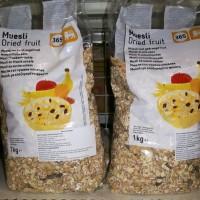 Muesli Dried Fruit (oat)