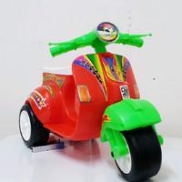harga Mainan Motor Vespa Mini Tokopedia.com