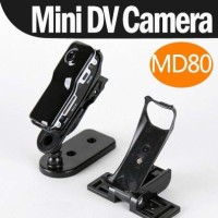 MD80 Mini DV Clip Camera Hitam