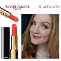 Chanel lipstick rouge allure velvet 43
