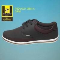 Cuci gudang... Sepatu Kulit PAKALOLO 06551 A Coklat