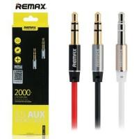 Kabel Audio Aux Remax 3.5mm Cable 2M - Headphone Speaker Smartphone
