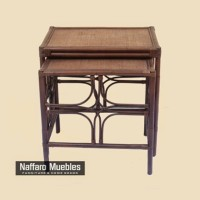 Furniture - Table Rattan (Minimalis)