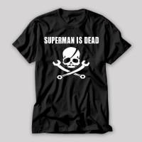 harga Kaos SUPERMAN IS DEAD 04 - Cotton Combed 24s Tshirt Tokopedia.com