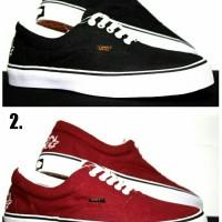 Sepatu Casual Vans suicidal Ifc grade orie (warna hitam & merah)