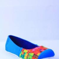 Sepatu Graphity Ballet Flats Biru