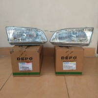 HEAD LAMP MOBIL COROLLA AE112 ALL NEW 1.6 1998-2000
