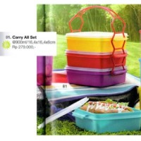 tupperware rantang murah carry all set (4)