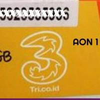 Paket GPS Internet tri AON 3gb 1tahun