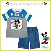 Baju Kaos Dan Celana Pendek Jeans Anak Disney Mickey