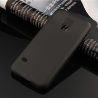Hard Case Cover UltraThin 0.30 mm For Samsung S5 Mini Warna Hitam