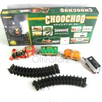 OltinStore Mainan kereta api Cargo Classic Choochoo Train Super