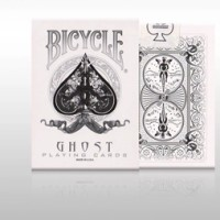 Bicycle Ghost White Playing Card America Original Deck Import