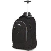 High Sierra Chaser Backpack Trolley Ransel - BLACK