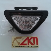 harga Lampu Rem LED Segitiga F1 Stop Lamp LED Motor Mobil Universal Tokopedia.com