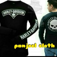 harga Kaos/t Shirt/lengan Panjang Keren Harley Davidson Tokopedia.com
