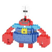 lego nanoblock 2235 Wagle - Mr.Krabs
