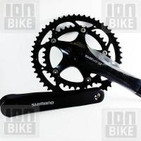 harga Crank Shimano FC-2300 (Crank Sepeda Balap susun 2) 52T-39T Tokopedia.com