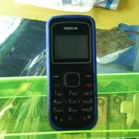 Nokia 1202 casing biru