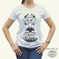 Kaos Khusus Club Motor Scoopy Banjar Patroman Logo Leadies