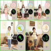 Jual Baju Tidur Anak Setelan (GW Pajamas) Glow In The Dark Baru | St