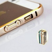 IPHONE 5 SE/5S/5G BUMPER METAL LIST GOLD COVER CASE IPHONE