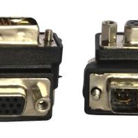 90 Degree DVI to VGA Adapter (ZK-B385)