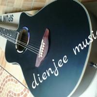 Jual Gitar Akustik APX warna hitam ELEKTRIK Murah