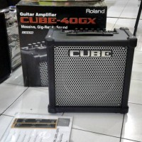 harga Roland Cube-40GX 40watt 1X10 Guitar Combo Amplifier Tokopedia.com