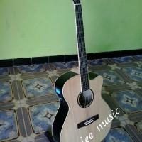 Gitar Akustik Custom Lakewood Elektrik MAPEL