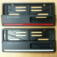 Pelindung Plat Nomor Honda