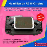 Head Printer Ori Epson R230 R230x RX510 R210 R310 R350 RX650 RX630
