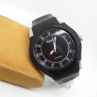 jam tangan pria / cowok vinergy 2001 tali karet original anti air
