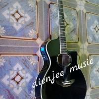 Jual Gitar Akustik elektrik model APX HITAM Murah