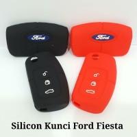 Cover Kondom Sarung Silicon Silikon Remote Kunci Mobil Ford Fiesta
