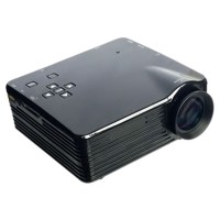 Mini Portable Projector LED 400 Lumens SD Card & TV 320x240px - VS320+