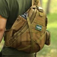 Jual Tas selempang tactical sling bag outdoor shoulder messenger bag import Murah
