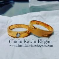 cincin kawin tunangan pernikahan terbaru emas putih
