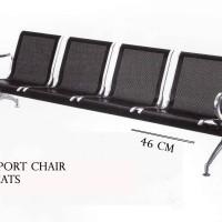 KURSI TUNGGU KURSI BANDARA AIRPORT CHAIR 4 SEATS 46 CM