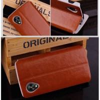 Jual Mofi Leather Flip Stand Book Cover Casing Case Dompet Kulit LG Nexus 5 Murah