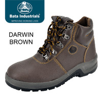 Sepatu Safety Shoes Bata Darwin Brown