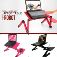 Jual Meja Laptop Alumunium Lipat Portable Murah