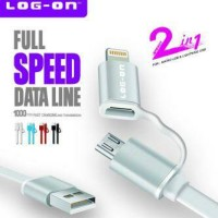 Kabel Log-On 2in1 L-021T