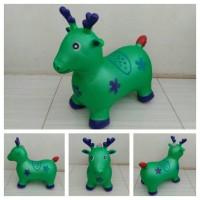 Mainan Tunggangan Karet Kuda Rusa Kambing