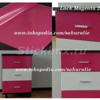 harga Wallpaper Unilack Magenta ( Cutting Sticker/contact Paper ) Tokopedia.com